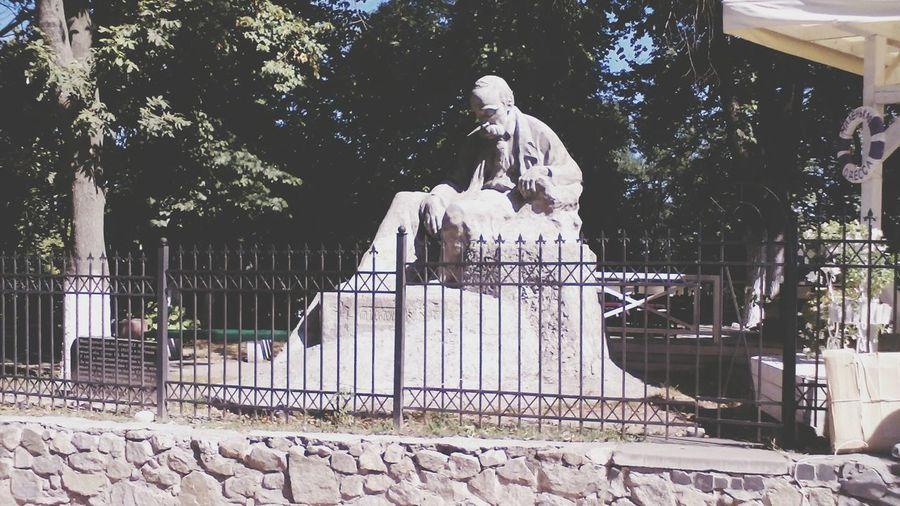 Ukraine 💙💛 Kiev Sculpture Built Structure Day Shevchenko Monument Shevchenko