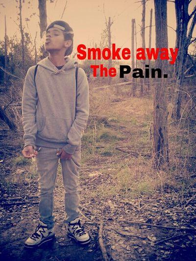Smoke Away The Pain! My Little Nigga.