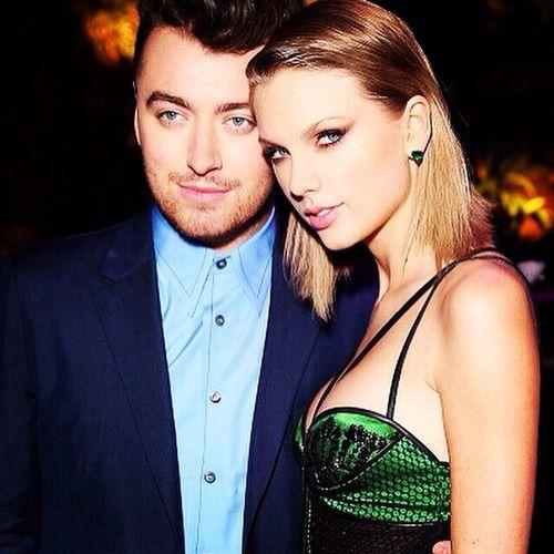 Taylor Swift Sam Smith Elle Magazine