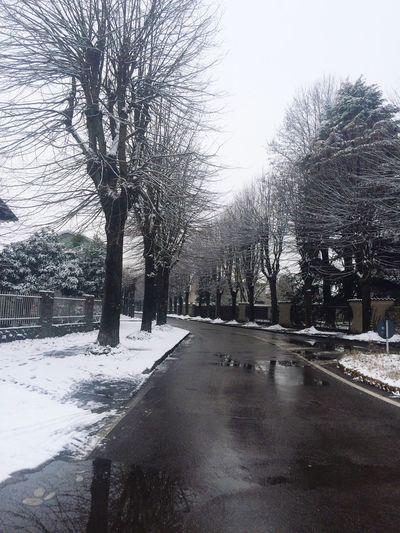 Snow in Italy🌨❄️ Freddo Polare!😆 Italy 🇮🇹 Snow ❄