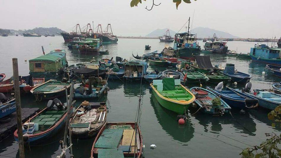 Cheung Chau Fishing Boats