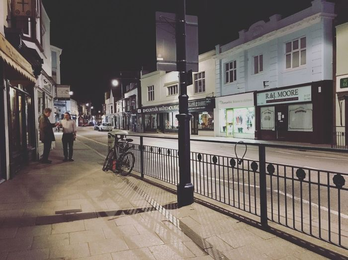 The Street Photographer - 2016 EyeEm Awards Whitstable High Street Night Photography Night Empty Road Closing Time