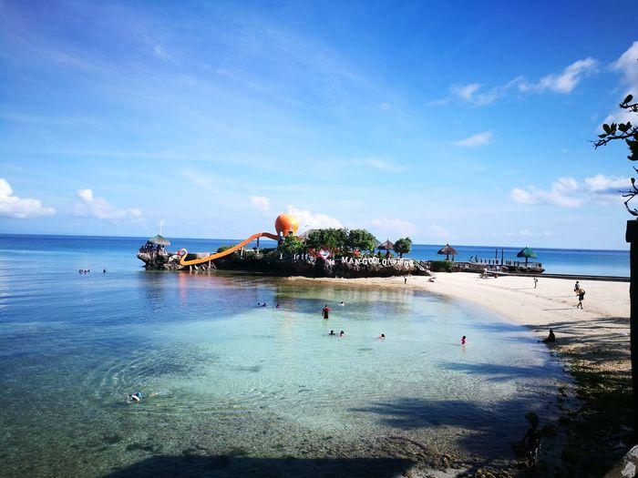 I left my ❤️ in Mangodlong Rock. Camotes Island Vacations Beach Sea Sand Summer P9photography Cebu City, Philippines