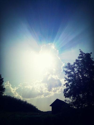 Licht, Wolke, Sonne First Eyeem Photo