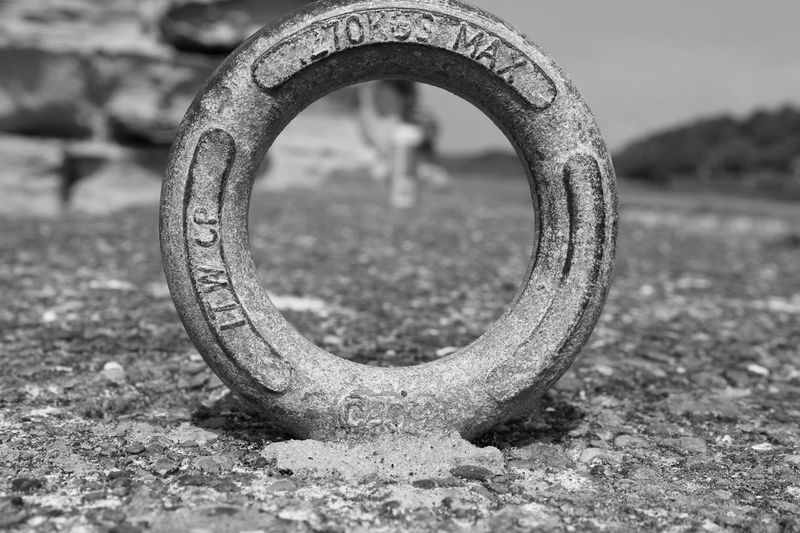 EyeEm Selects Metal Close-up Focus On Foreground No People Field Day Outdoors Abandoned Ring Harbour