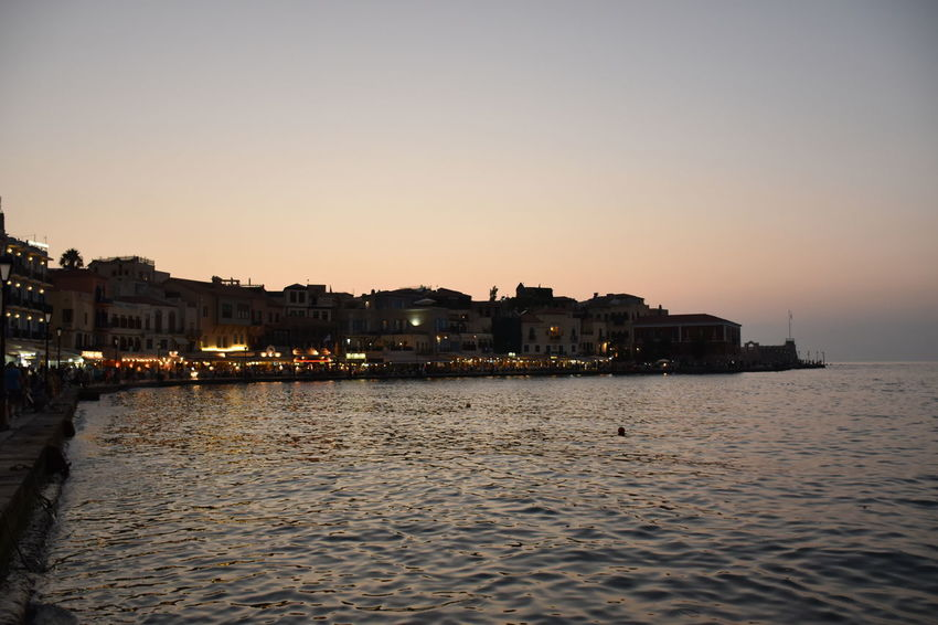 Holidays ☀ in Creta ❤ Walking Around in Chania at the Harbour while Sunset