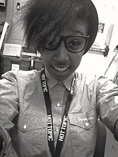 at Work I'm chilling & I love my job