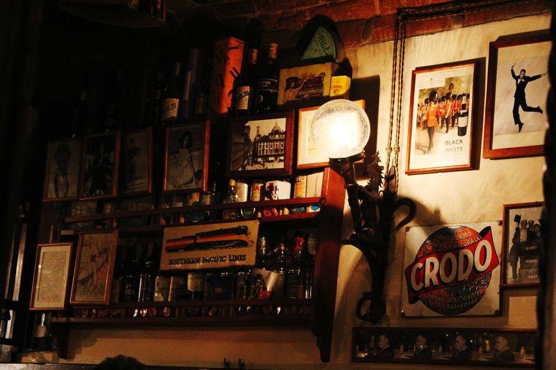 Details Restaurant Place Firenze Florence IT Italia Italy Dettagli Illuminated Historic Building Vintage Retro Passageway Building Exterior Old Electric Light Settlement