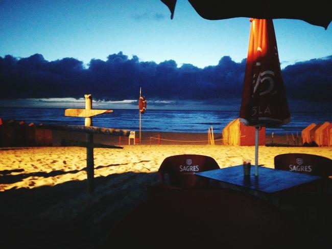 Relaxing Enjoying Life Sea Peace Freedom Beach Furadouro