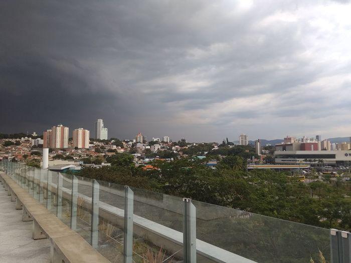 Brasil Jundaí City Cityscape Urban Skyline Tree Skyscraper Downtown District Sky Architecture Cloud - Sky Office Building