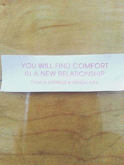 Because I never knew Fortune Cookie could make me so FOREVER ALONE :(