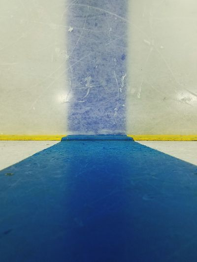Blue Backgrounds Multi Colored No People Water Close-up Ice Blue Line White Rink Cold Frozen Ice