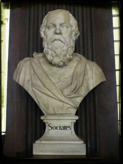 Sócrates Trinity College Library Marble Bust Dublin