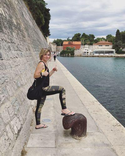 Sordi Fool in Zadar Sordi Fool Zadar,Croatia Zadar Croatia_photography Croatia Jadranskomore Jadran Woman Nebbia Fitness Girl Summer Fit Girl