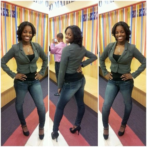 Late upload from winter formal. She cute, she did that, she won!