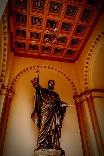 Indoors  Architecture Travel Destinations History Statue Built Structure Statue Sculpture Spirituality Architecture Religion Indoors  Indoors  Travel Church Architecture Building Exterior