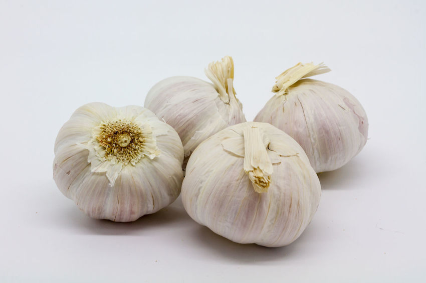 Whole garlic bulbs Aromatic Bulbs Close-up Cooking Food Fragility Freshness Garlic Garlic Bulbs Group Of Objects Isolated Nature No People Organic Pungent Raw Food Spices Still Life Studio Shot White Background Whole