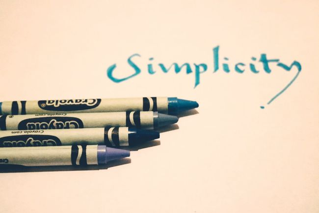 Simplicity Crayons Simplicity Minimal Minimalist Photography  Art Close-up Text Words Nopeople