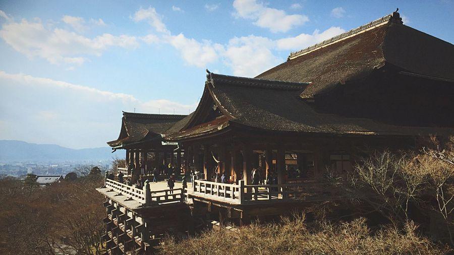 2016.1.26 清水寺に行きました。 Kiyomizu-dera Kyoto Kyoto, Japan KiyomizuTemple Kiyomizudera Kiyomizu No Butai