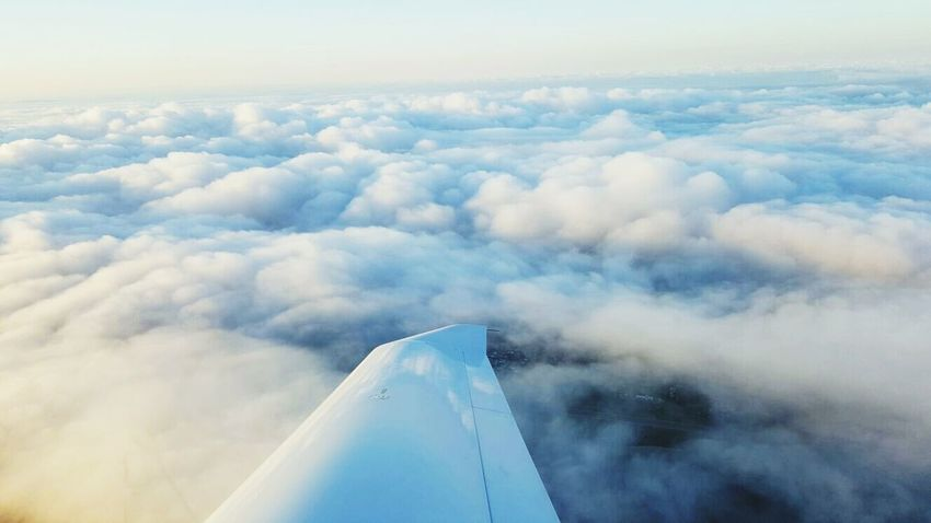 Soaring through the valley of plush pillows Trinidad And Tobago Evening Sky Endless Clouds Limitless