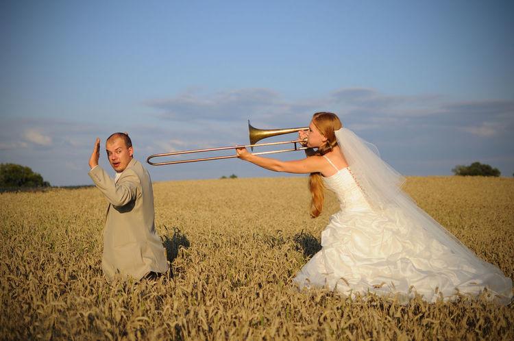 Exceptional Photographs Fresh On Eyeem  Wedding Wedding Photography Bride And Groom Wedding Dress Wedding Day Weddingday  Bone  Trombone Golden Hour Golden Light Husband And Wife Husbandandwife Family