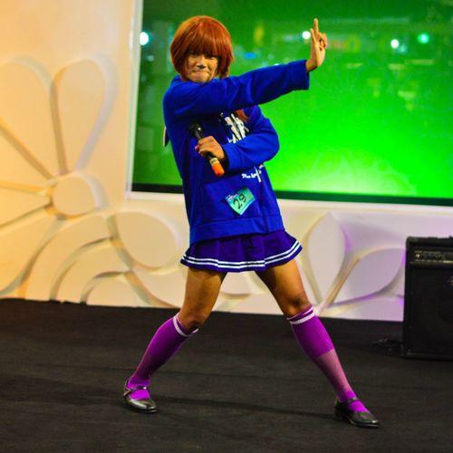 Cosplay anime Photography Nikonphotography#iamnikon Anime Cosplay Japangirl Harajuku City Child Portrait Multi Colored Music Concert Posing