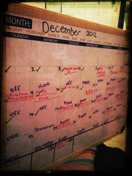Busy Busy Month
