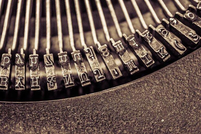 Steampunk Antique Typewriter
