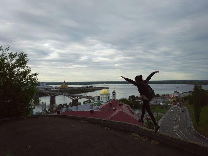 Art Film Summer Arhitecture Volga River Nizhniy Novgorod River Bierd Footbal Stadion Fifa2018 MOVIE City Water Sky Architecture Cloud - Sky Sun Lounger