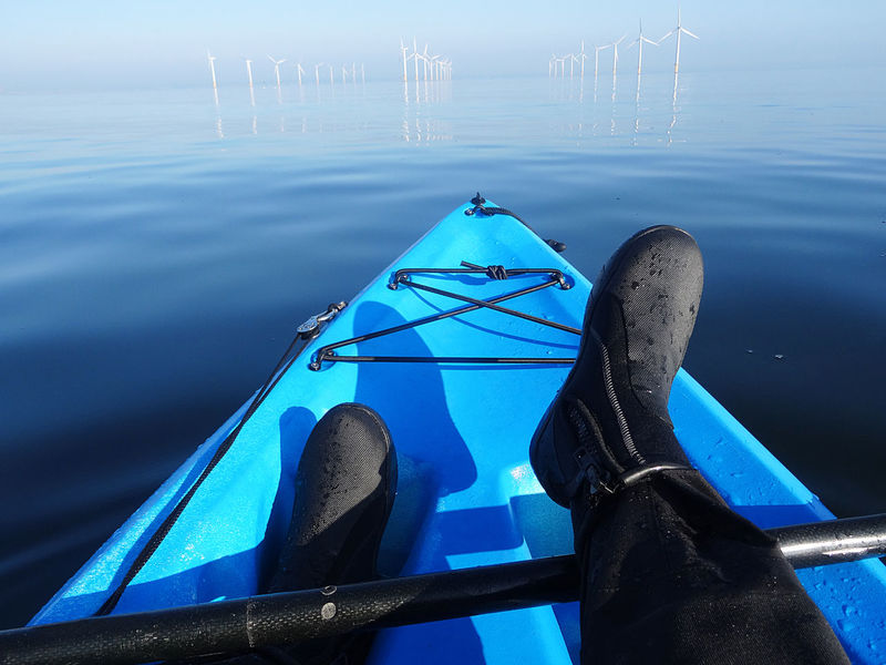 I went out kayak fishing on a great sunny day. Early in the morning, the sea was so very calmed and relaxing. Boots Kayaking Blue Blue Sky Blue Water Calm Sea Calm Sea View Close-up Day Fishing Kayak Kayak Fishing Kayaking Is Fun Kayakingadventures Low Section Mode Of Transport Nautical Vessel Outdoors Paddle Sea Still Water Sunny Day Transportation Water Windfarminsea Be. Ready.