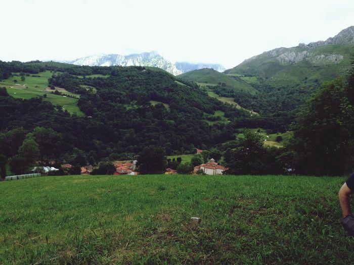 In da village Nature Green Mountains SPAIN