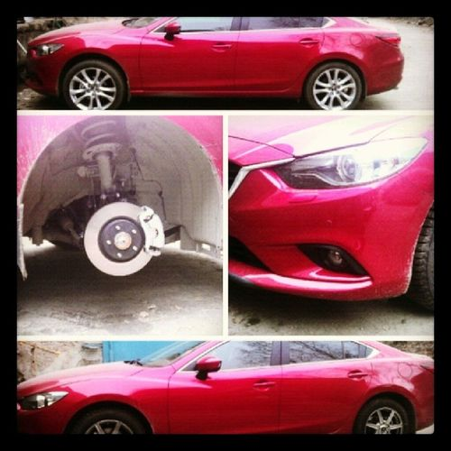 Сменили штатные r19 на Manaray r17 на зиму. Mazda Mazda6 R19 R17 wheels_r17 manaray manarayr17