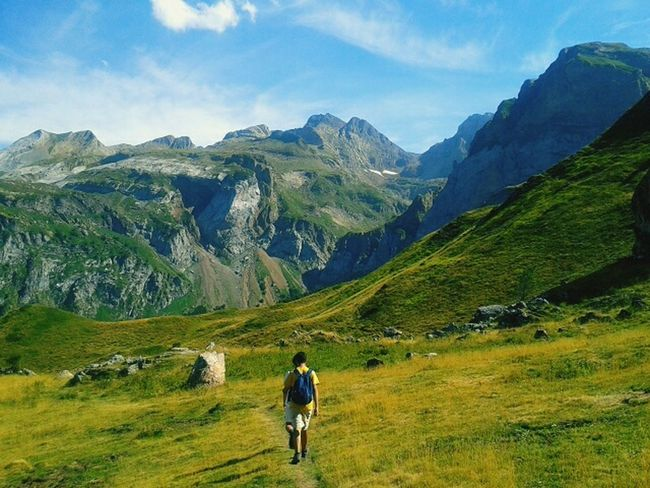 Pyrenees Mountains France SPAIN Landscape Nature Green Trip Sunny Summer September Beatiful Tour Spectacular Badcamera BadQuality Doesntmatter Things I Like On The Way Adventure Club The Great Outdoors - 2016 EyeEm Awards