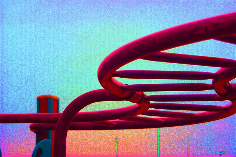 Close-up Day Metal No People Outdoor Play Equipment Outdoors Pink Color Plagrund Red Strength Water Park Minimalist Architecture The City Light The Architect - 2017 EyeEm Awards Carolinensiel