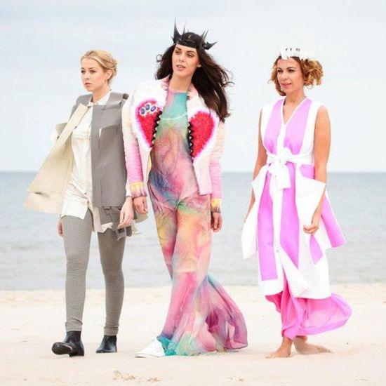 Fashion Baltic Fashion Usedom Beach event tourism heringsdorf models beauty model coast pier