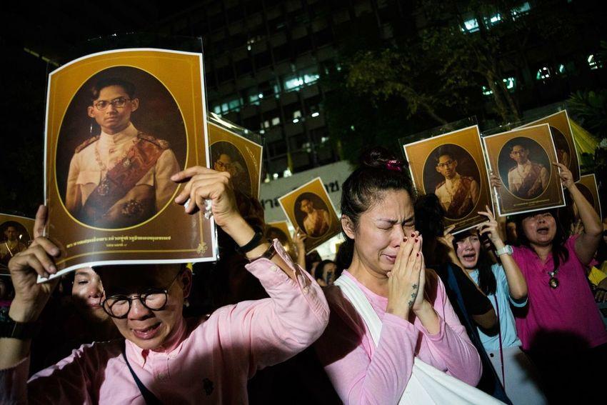 My Year My View 13.10.2016 Thai people worldwide saddened by death of King Bhumibol Adulyadej.