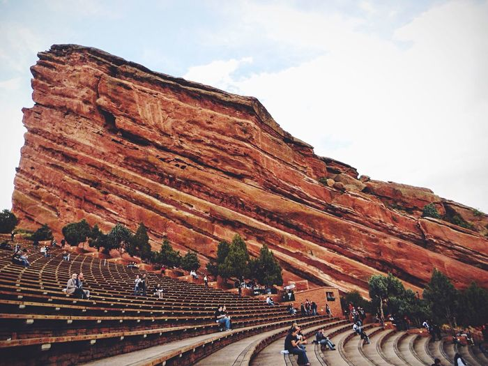 Red Rocks  Live Music What I Value Colorado This is an old pic I snapped in 2010 as I eagerly awaited seeing Alice in Chains and Deftones perform. Nature For The Love Of Music Edge Of The World