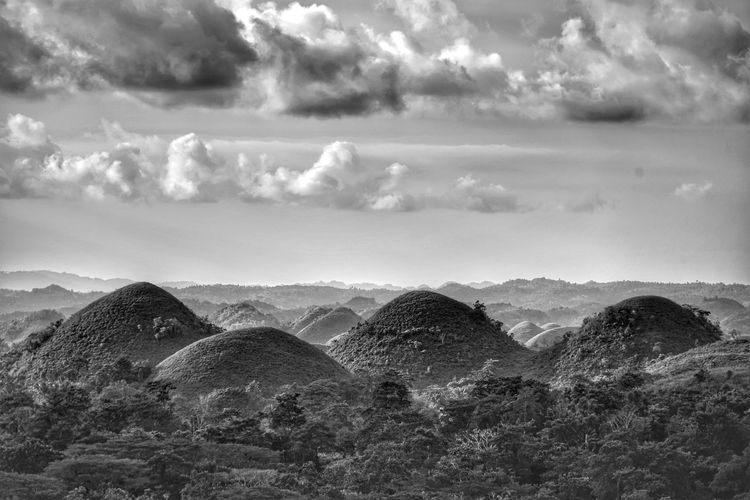 The chocolate hills Philippines Photos Bohol Photos The Chocolate Hills Hills Bnw Bnw_life Landscape Light And Shadow Bohol Island Bohol Bohol Philippines Bohol Adventure Streamzoofamily Travel Blackandwhite Cloudpark Hdr Edit Chocolate Hills Bohol Philippines Chocolate Hills Traveling Mountain Sky Cloud - Sky Famous Place International Landmark Tourism Tourist Attraction  Visiting Travel Destinations The Great Outdoors - 2018 EyeEm Awards