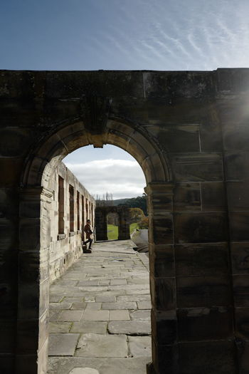 Shot in Tasmania, Australia. Ancient Ancient Civilization Arch Architecture Built Structure Day History No People Old Ruin Outdoors Sky The Way Forward Travel Destinations