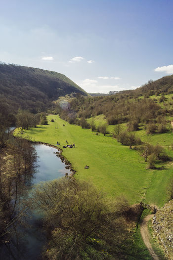The beautiful Monsal Dale in Spring Beauty In Nature Day England English Countryside Forest Grass Green Color Growth Landscape Monsal Dale Nature Outdoors Prairie Scenics Sky Tranquil Scene Tranquility Travel Tree Uk Wanderlust Water