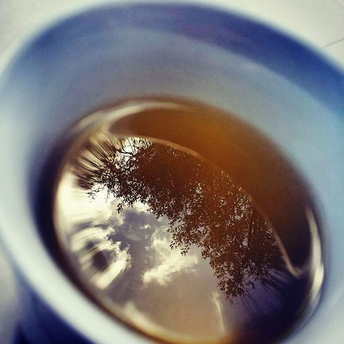 morning in a cup First Eyeem Photo Outdoors Beauty In Nature Hvar Croatia Hvar Island Island Life Mediterranean  Lookupinthesky Clouds And Sky Olivetree Reflections In The Water Reflection Reflections In The Glass