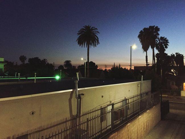 Beautiful Los Angeles, California Sunset Evening Sky Enjoying Life Beautiful View Evening Photography