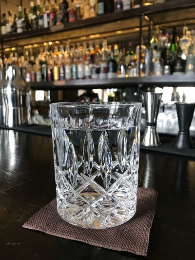 Crystal clear Bar - Drink Establishment Glass Food And Drink Drink Table Refreshment Drinking Glass