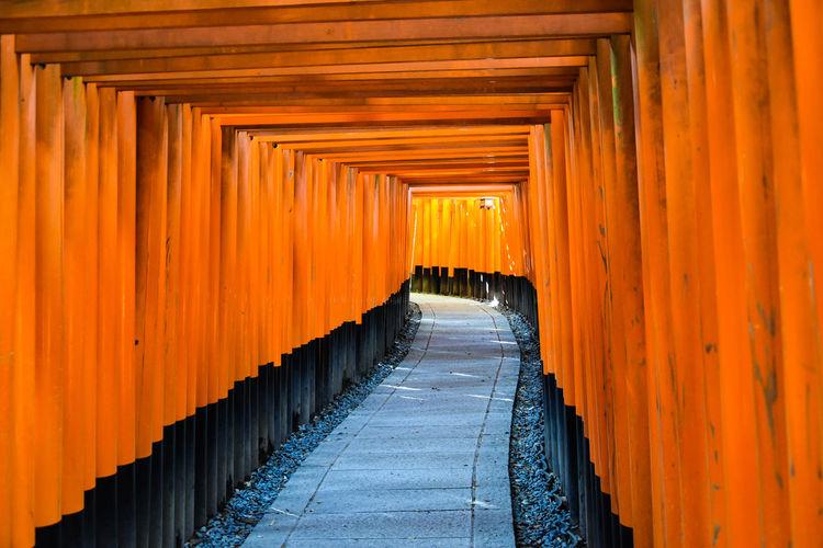 Walkway in temple
