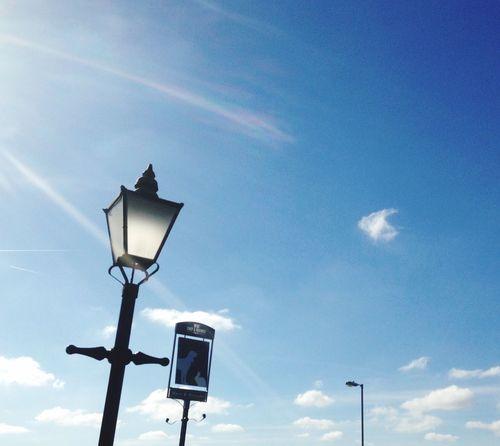 Beautiful Day Lighting the way