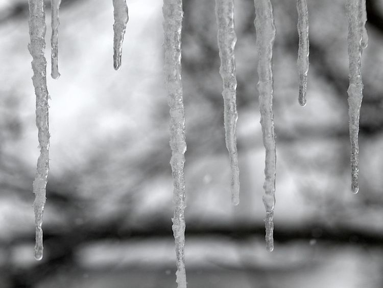 Not a time to go outside Close-up Cold Temperature Danger Day Dropping Drops From The Rooftop Ice Icicle Looking Out Looking Outside Looking Through Window Nature No People Outdoors Snow Strom Winter