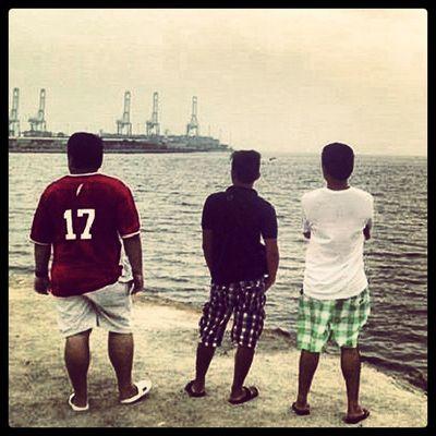 Docker's boys.... by the sea... RedSea Jeddah Galamode
