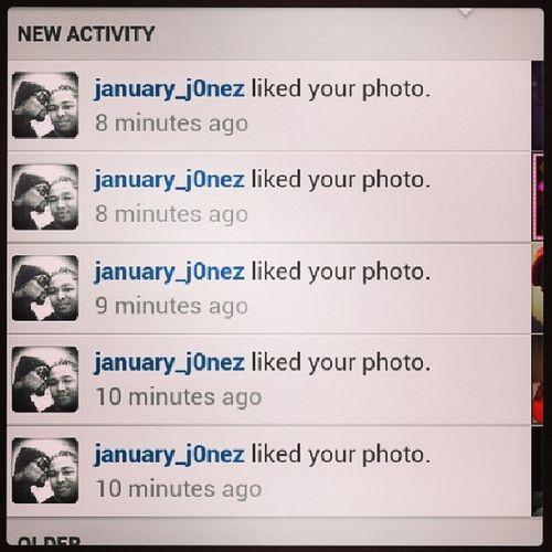 Thanks @january_j0nez 4 da Spamlove