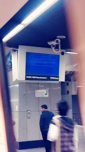Delhi Metro BSOD Bluescreenofdeath