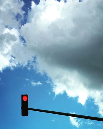 On The Road Red Light Stoplight Sky Clouds Minimalism Minimalist Roadtrip Mmaff From My Point Of View EyeEm Gallery Eye4photography  Taking Photos Hello World EyeEm Best Edits